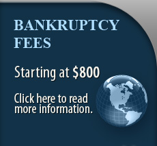 Read More Information About Our Bankruptcy Fees
