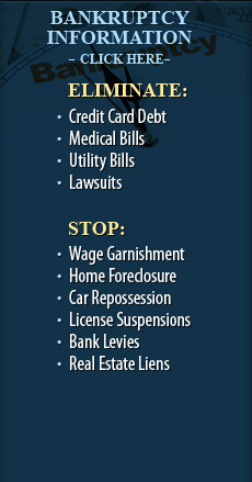 Eliminate Debt and Stop Foreclosure, Garnishments, Levies, and Liens
